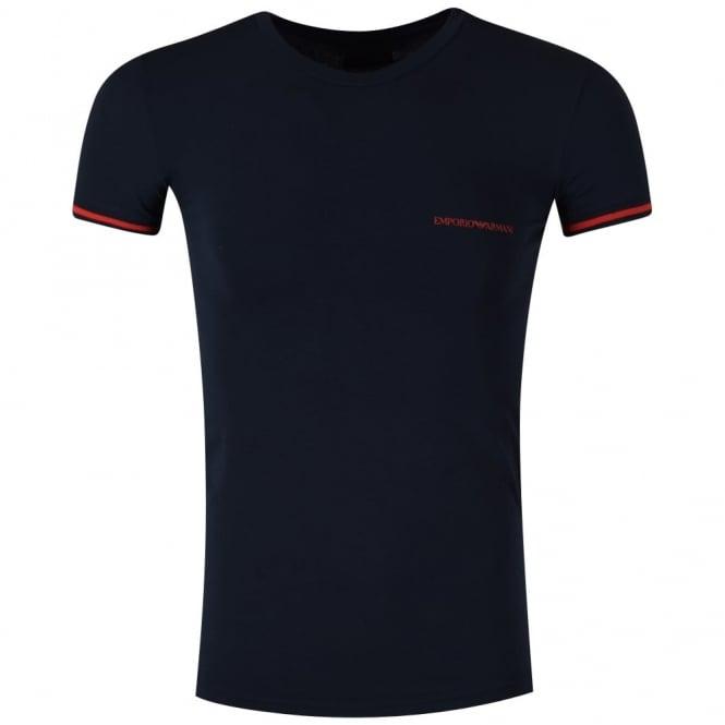 646c84aeb EMPORIO ARMANI Emporio Armani Underwear Navy Logo T-shirt ...