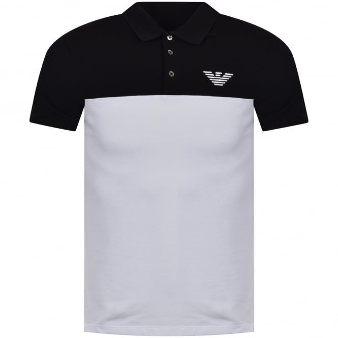 fcabc8a4 EMPORIO ARMANI White/Black Polo Shirt - Department from ...