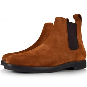 ETQ Cognac Brown Chelsea Boot