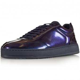 ETQ Oiled Metallic Low 5 Trainers