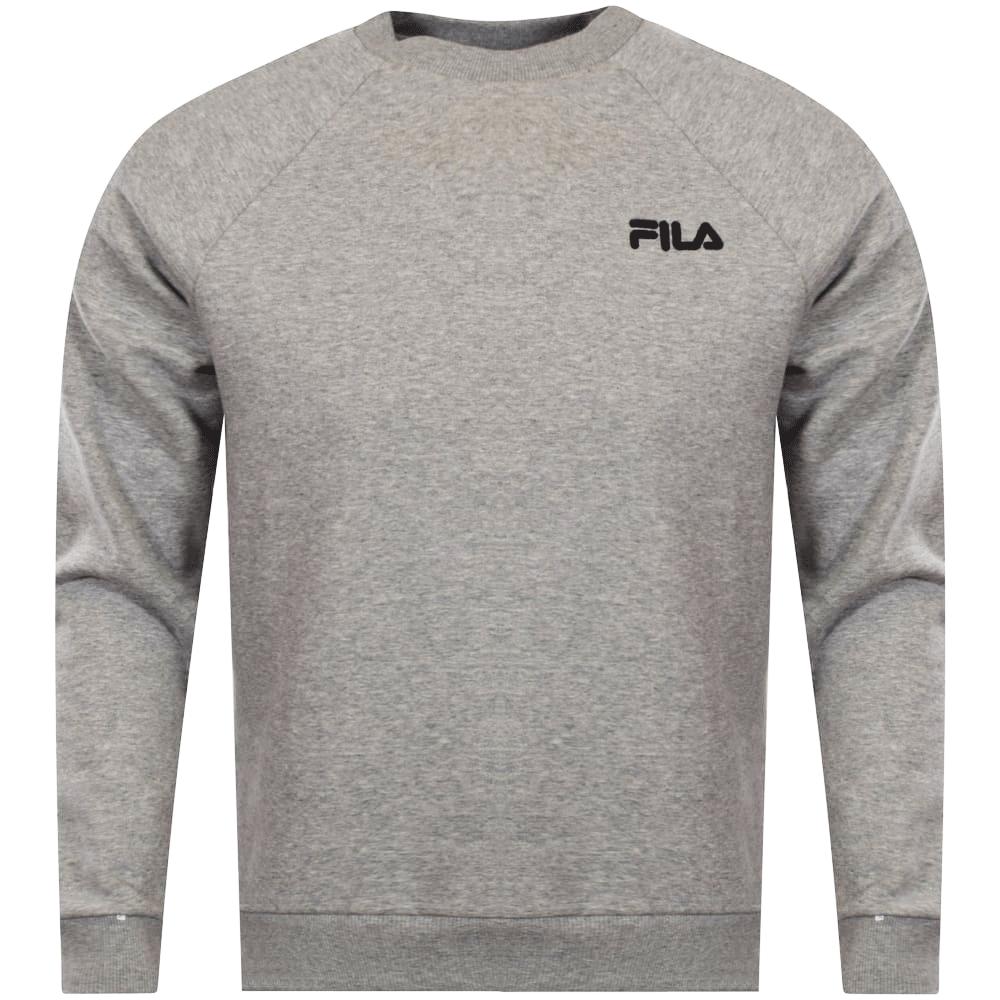 44497ebfa82c FILA Fila Grey Marl Logo Sweatshirt - Men from Brother2Brother UK