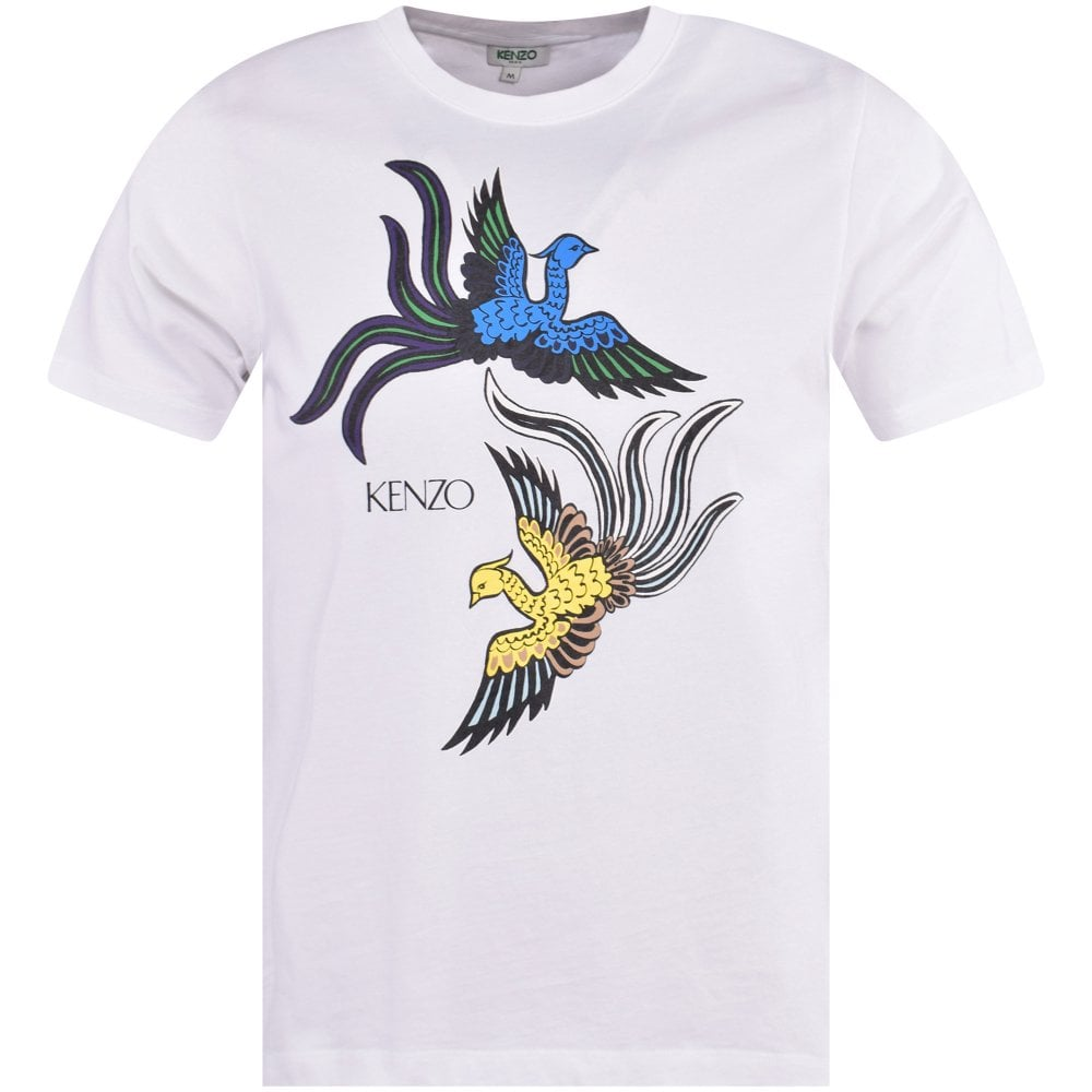 ea2d0a43 KENZO Flying Phoenix Print T-Shirt - Men from Brother2Brother UK