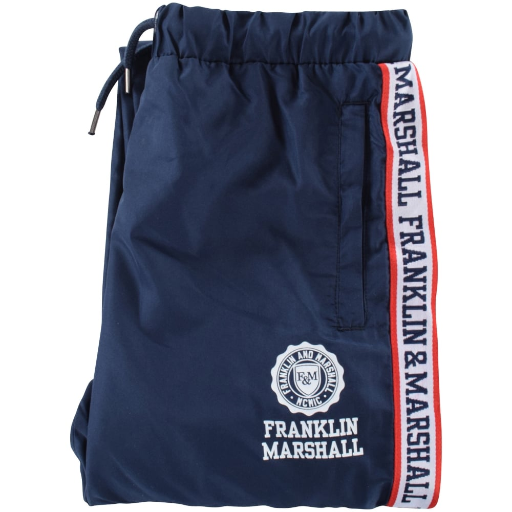 FRANKLIN AND MARSHALL JUNIOR Franklin and Marshall Navy Stripe Text ... d296abadf38