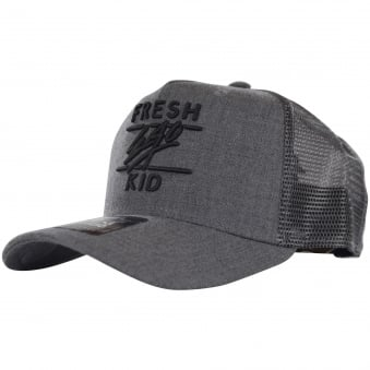 Fresh Ego Kid Charcoal Mesh Trucker Cap