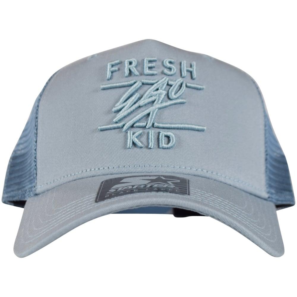 689b3748b4ed6 FRESH EGO KID Fresh Ego Kid Light Blue Mesh Trucker Cap - Men from ...