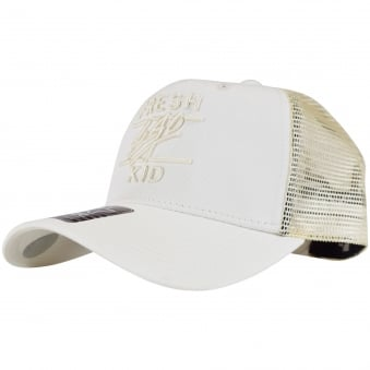 Fresh Ego Kid Off White Mesh Trucker Cap