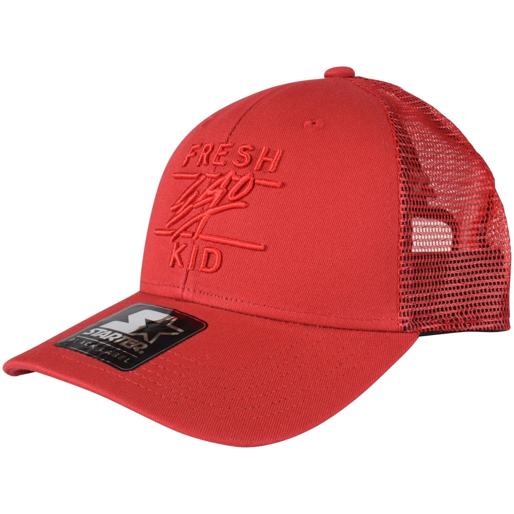 FRESH EGO KID Red Mesh Trucker Cap - Men from Brother2Brother UK 11526dba38a