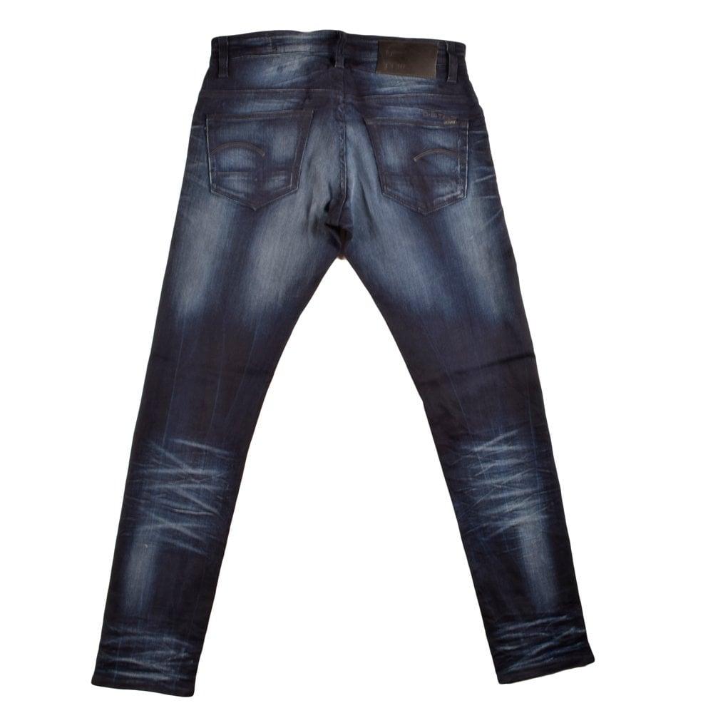 g star 3301 super sl dark blue g star slim fit jeans g. Black Bedroom Furniture Sets. Home Design Ideas
