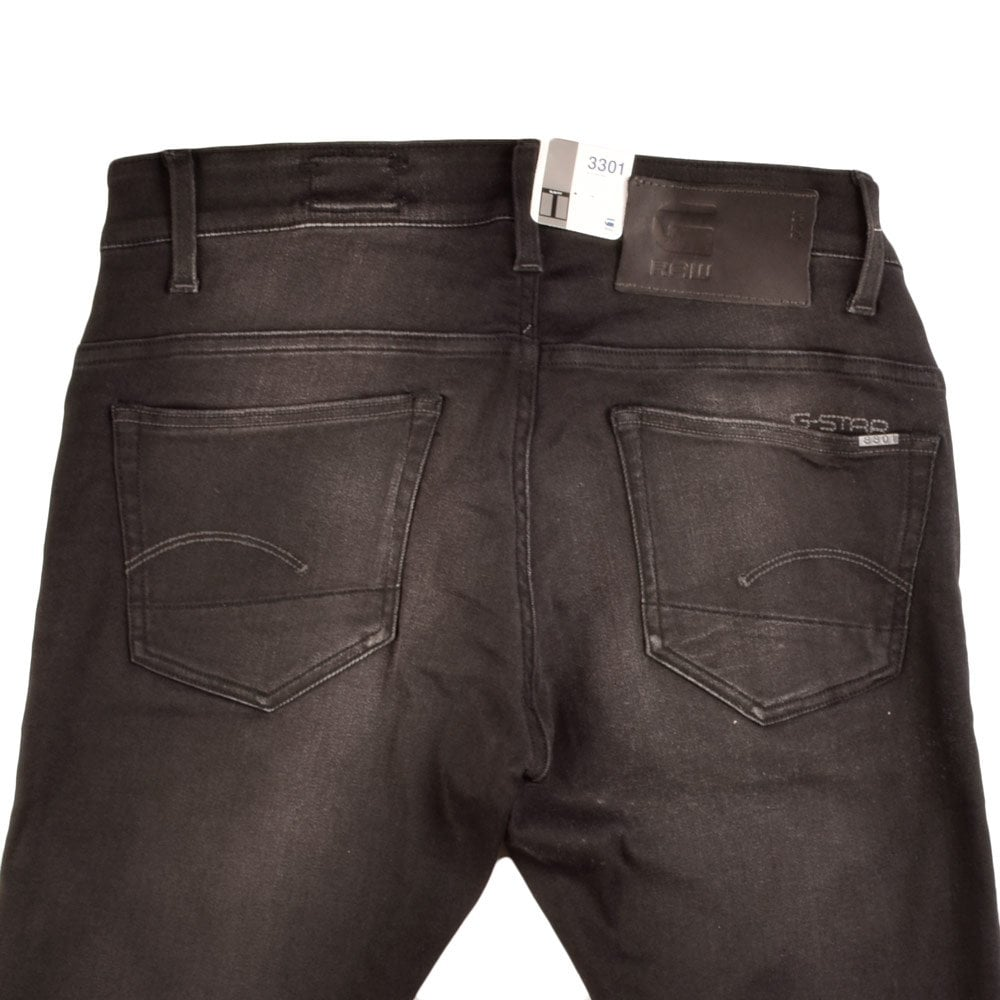 g star 3301 super slim g star g star jeans 3301 super. Black Bedroom Furniture Sets. Home Design Ideas