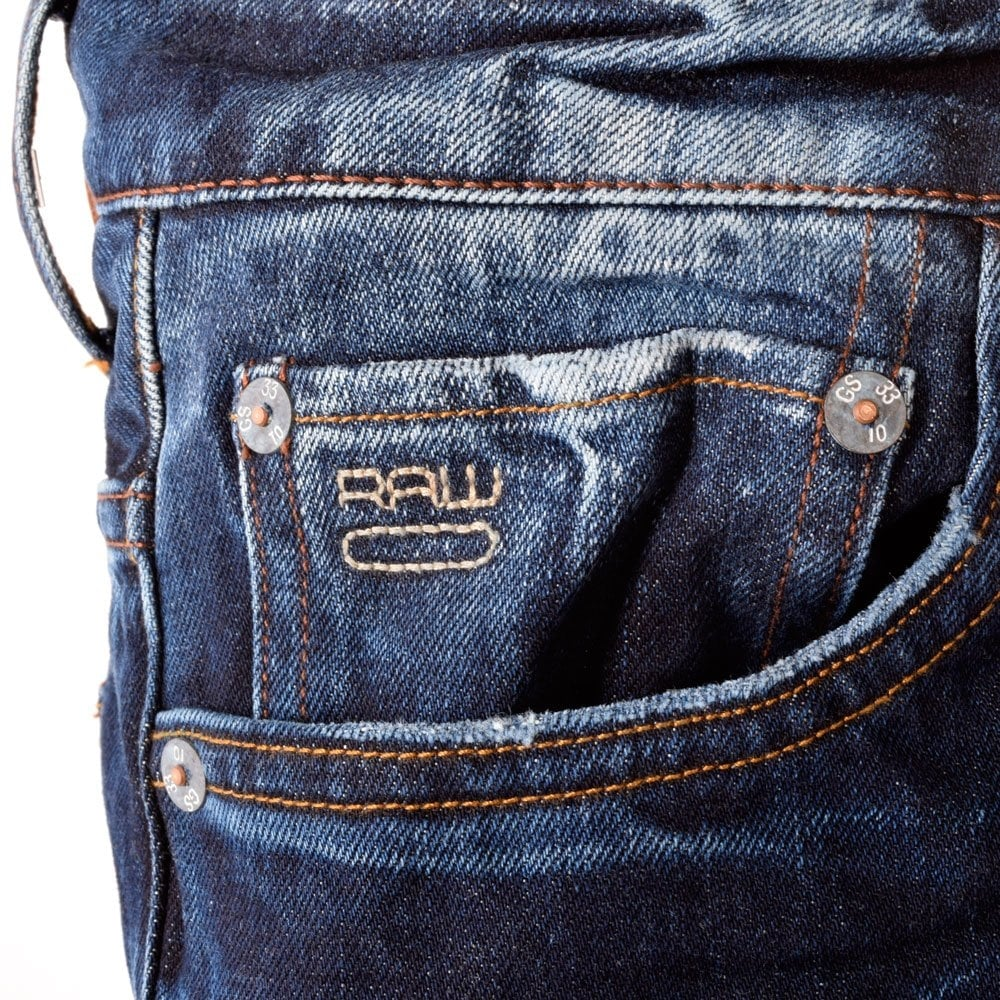 g star g star raw 3301 low tapered mid wash jeans g star. Black Bedroom Furniture Sets. Home Design Ideas
