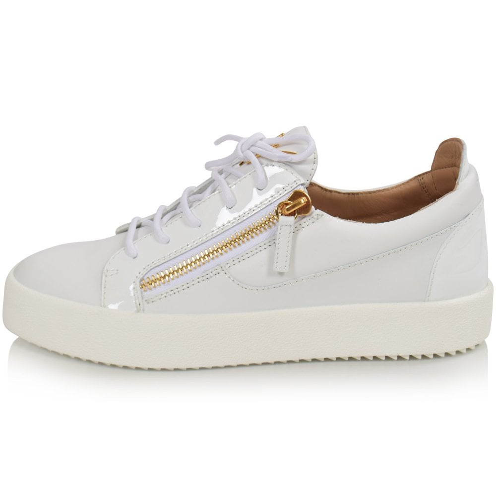best website good quality factory authentic White Frankie Low-Top Trainer
