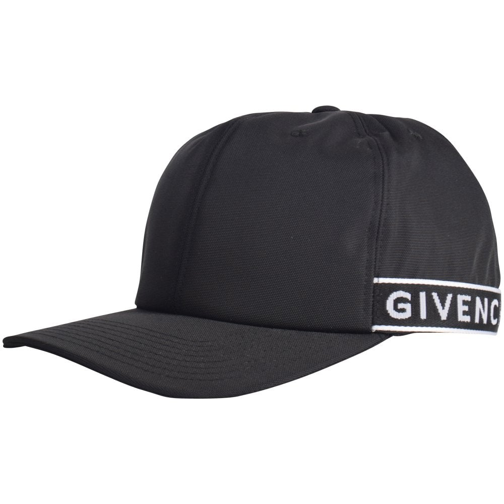 300fd6c3a7d GIVENCHY Black Logo Cap - Men from Brother2Brother UK