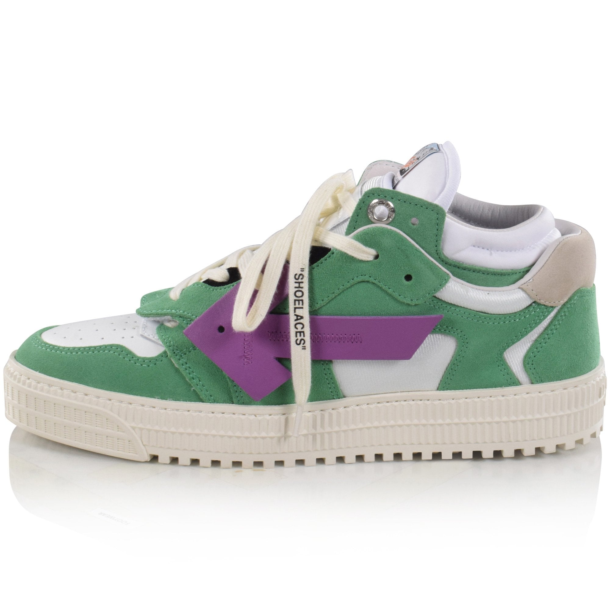 OFF-WHITE Green/Purple Off Court