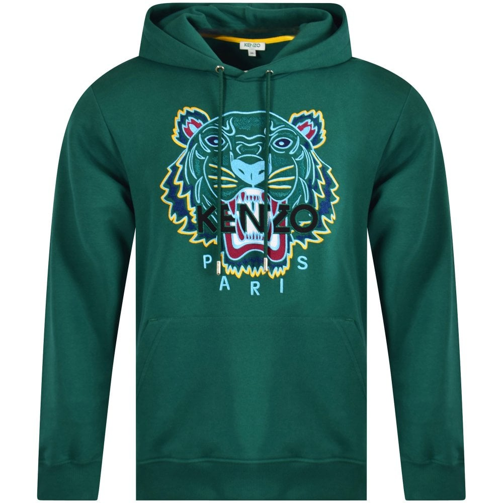 0e511806 Green Tiger Pullover Hoodie