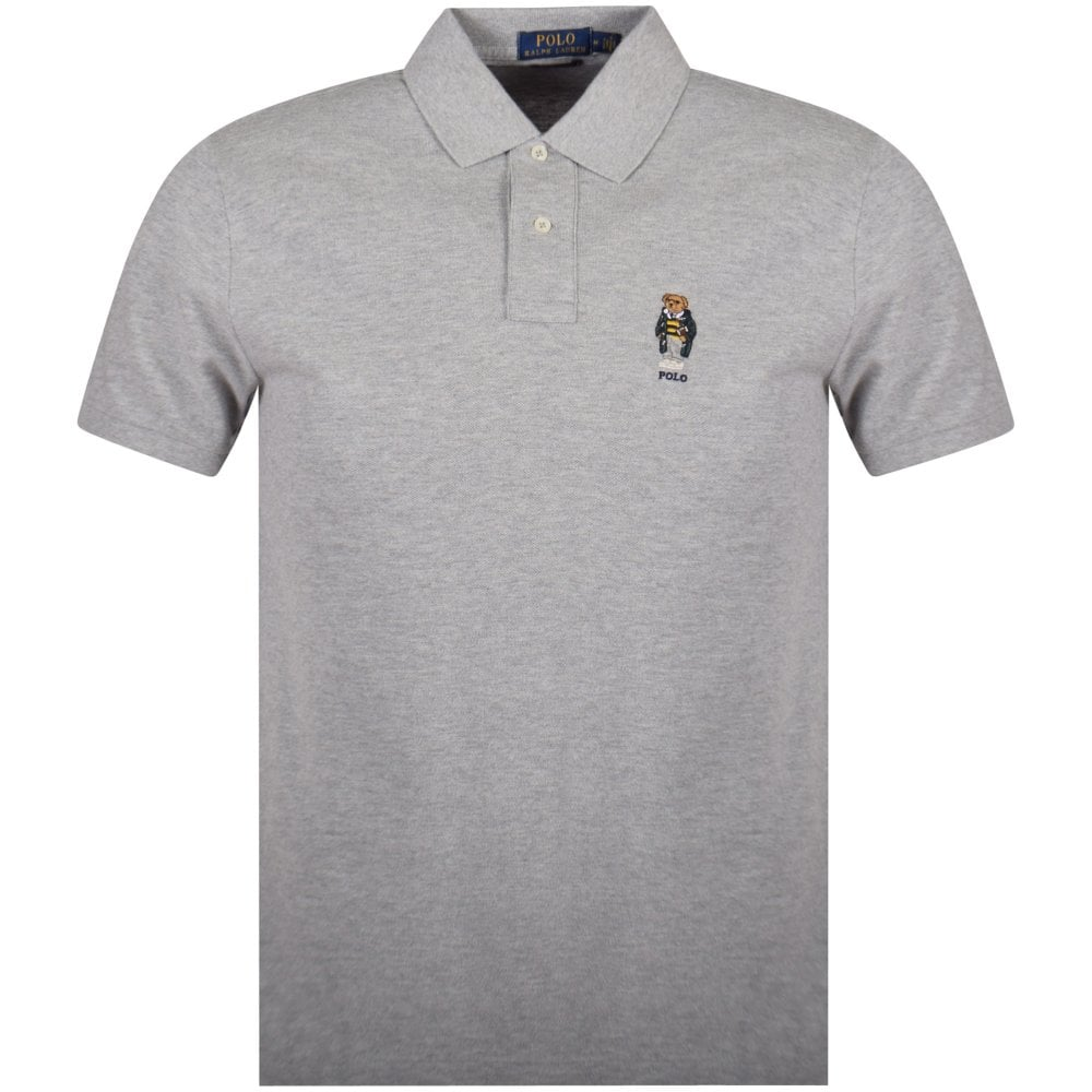 ralph lauren polo shirts grey