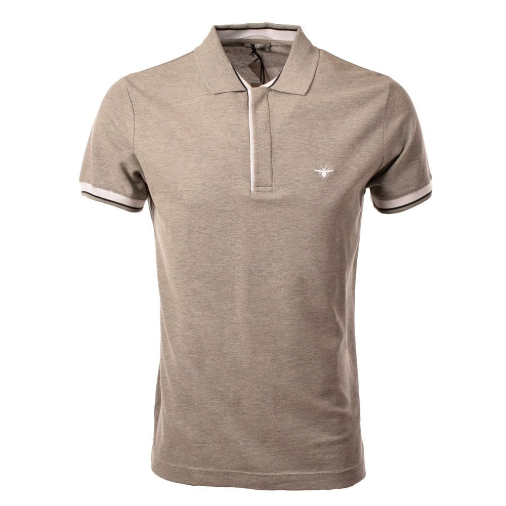 Grey Christian Dior Polo Shirt - Men from Brother2Brother UK 025ace27a71