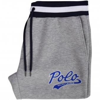 077a5b18c Grey Double Knit Logo Jogging Bottoms. POLO RALPH LAUREN ...
