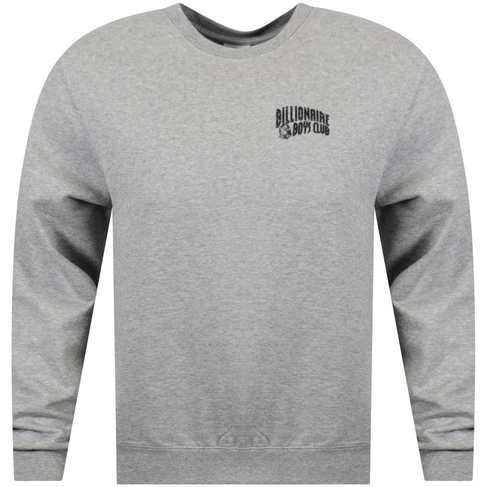 0a9dd38c8220 BILLIONAIRE BOYS CLUB Grey Small Arch Logo Sweatshirt - Men from ...