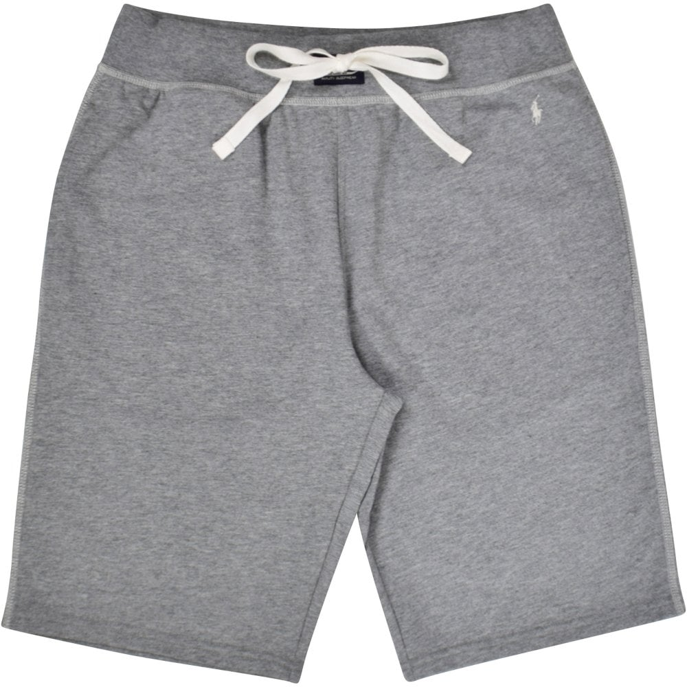 0a4cca81f POLO RALPH LAUREN Grey White Stitch Logo Shorts - Department from ...