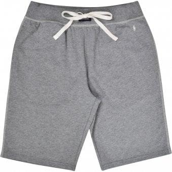 015e11df875d Grey White Stitch Logo Shorts · POLO RALPH LAUREN ...