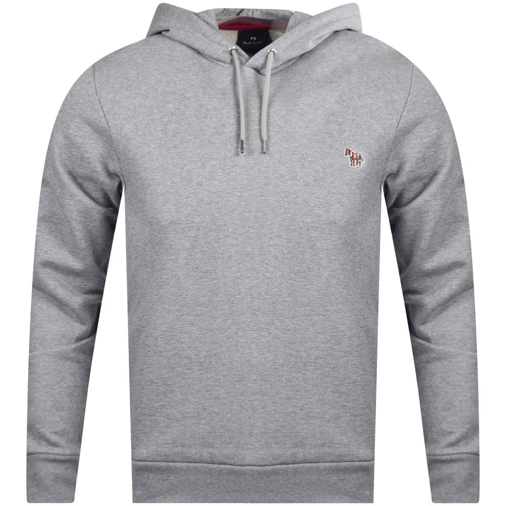b48a13df2e1 PS PAUL SMITH Grey Zebra Pullover Hoodie - Men from Brother2Brother UK