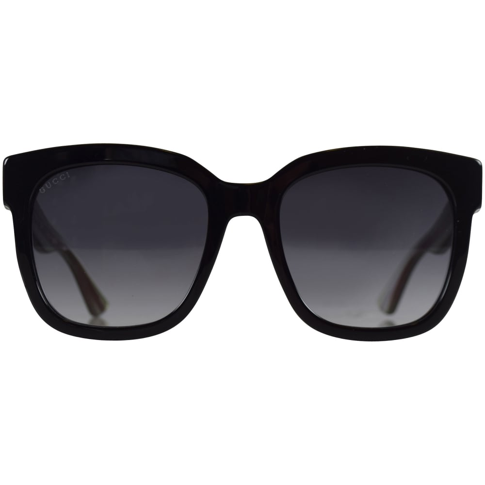 e8c553a1a2ff GUCCI SUNGLASSES Gucci Black/Green Glitter Sunglasses - Men from  Brother2Brother UK