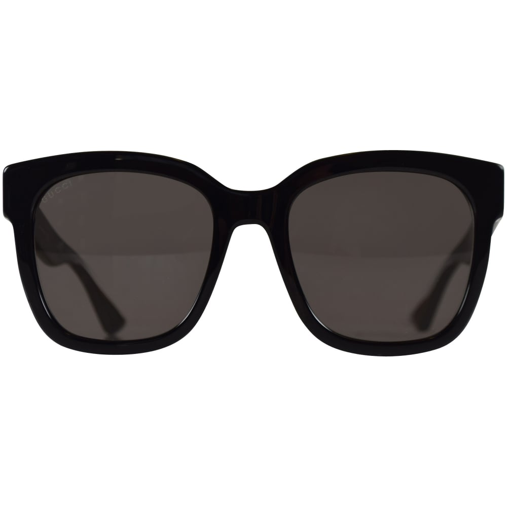 06a8117a5d92 GUCCI SUNGLASSES Gucci Black Square Frame Sunglasses - Men from  Brother2Brother UK