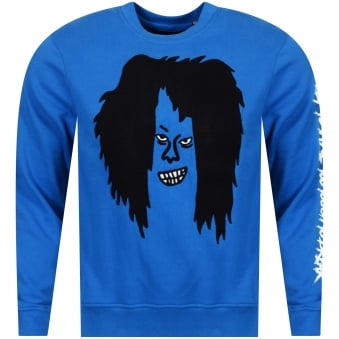 Haculla Blue 'Too Ugly To Take, Too Tough To Break' Crew Neck Sweatshirt