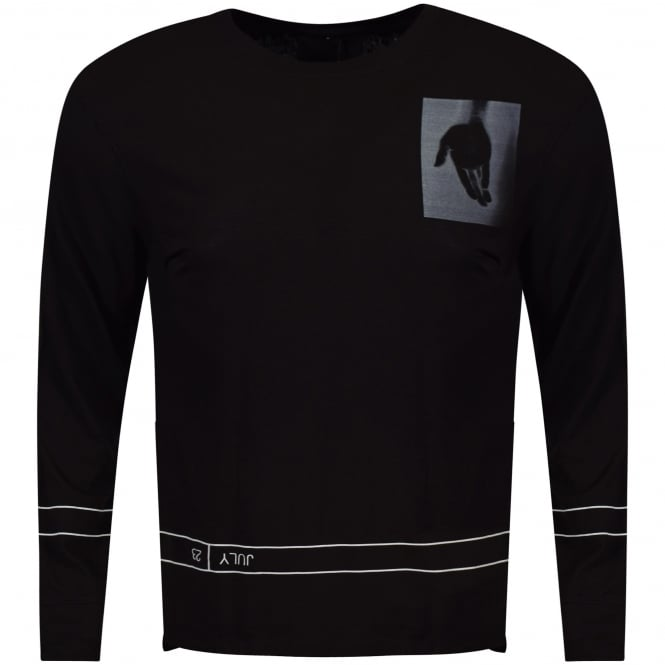 HELMUT LANG Black Long Sleeved T-Shirt