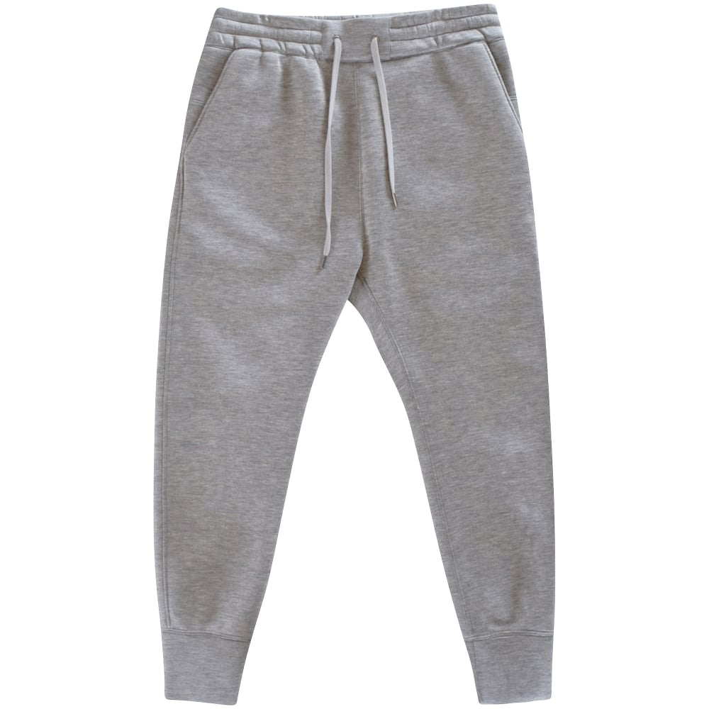 9190a8be934ffa HELMUT LANG Helmut Lang Grey Curved Leg Track Bottoms - Men from ...