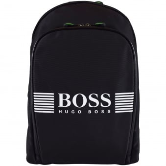 Hugo Boss Accessories Black/White Logo Backpack