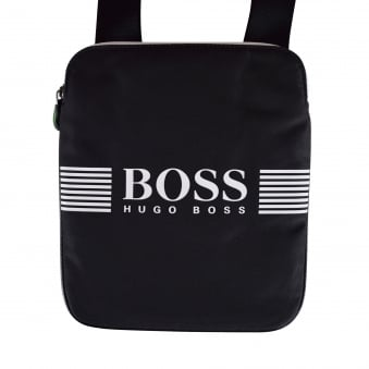 Hugo Boss Accessories Black/White Logo Body Bag