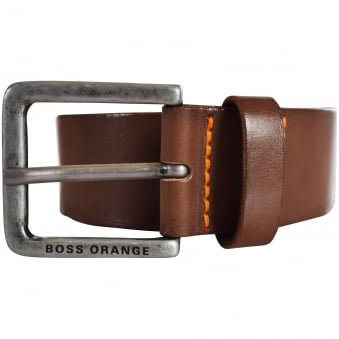 Hugo Boss Accessories Brown Leather Belt