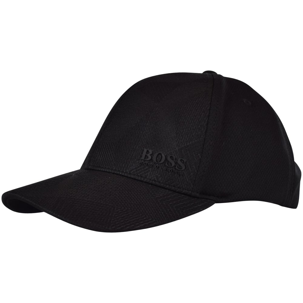 BOSS Hugo Boss Green Black Honeycomb Baseball Cap - Men from ... 4bbc2679fb5