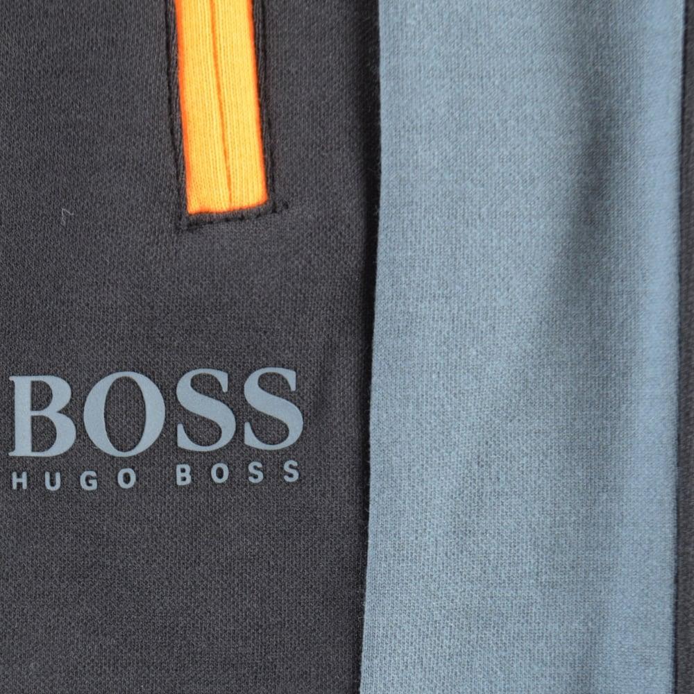 5b2953c0a553 HUGO BOSS Hugo Boss Black Grey Stripe Detailing Track Pants - Men ...