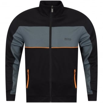 Hugo Boss Black/Grey Zip Track Top