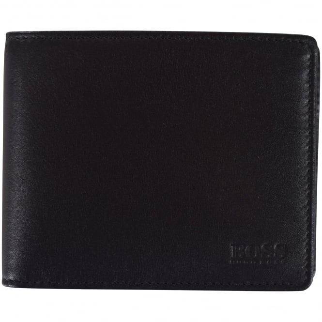 HUGO BOSS Black Leather Asolo Wallet