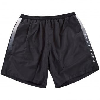 Hugo Boss Black Side Logo Swim Shorts