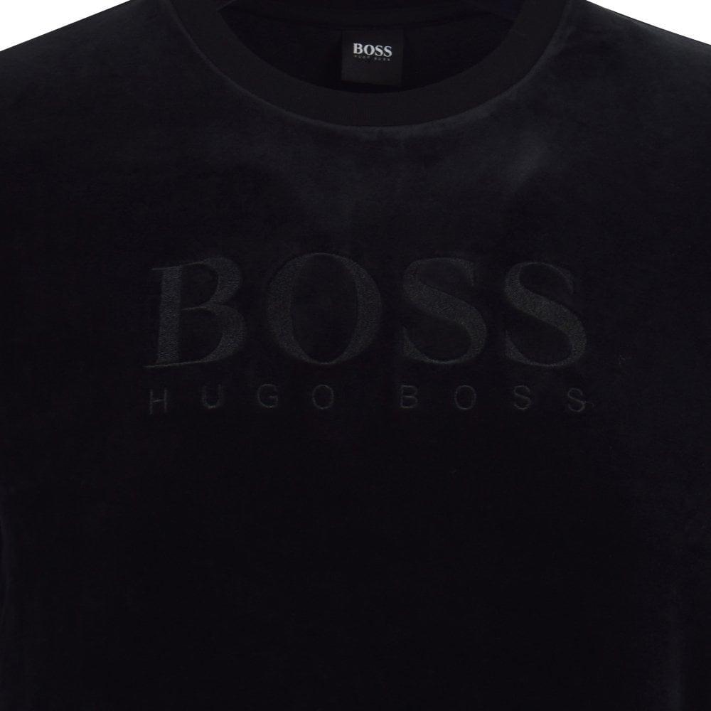 velvet hugo boss tracksuit