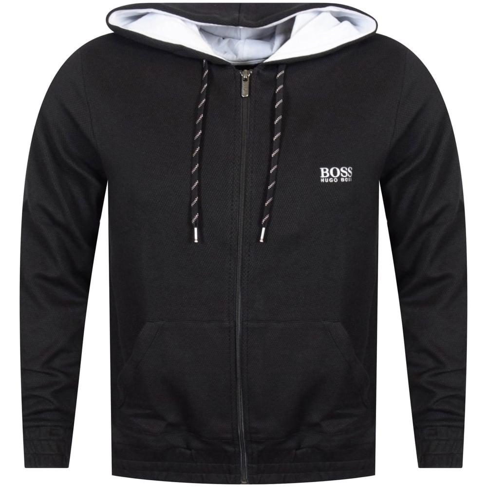 08147fe23def HUGO BOSS Hugo Boss Black White Logo Hoodie - Men from ...