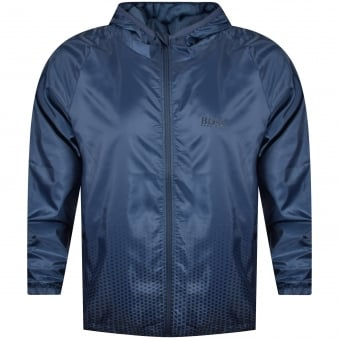 Hugo Boss Blue Logo Lightweight Jacket