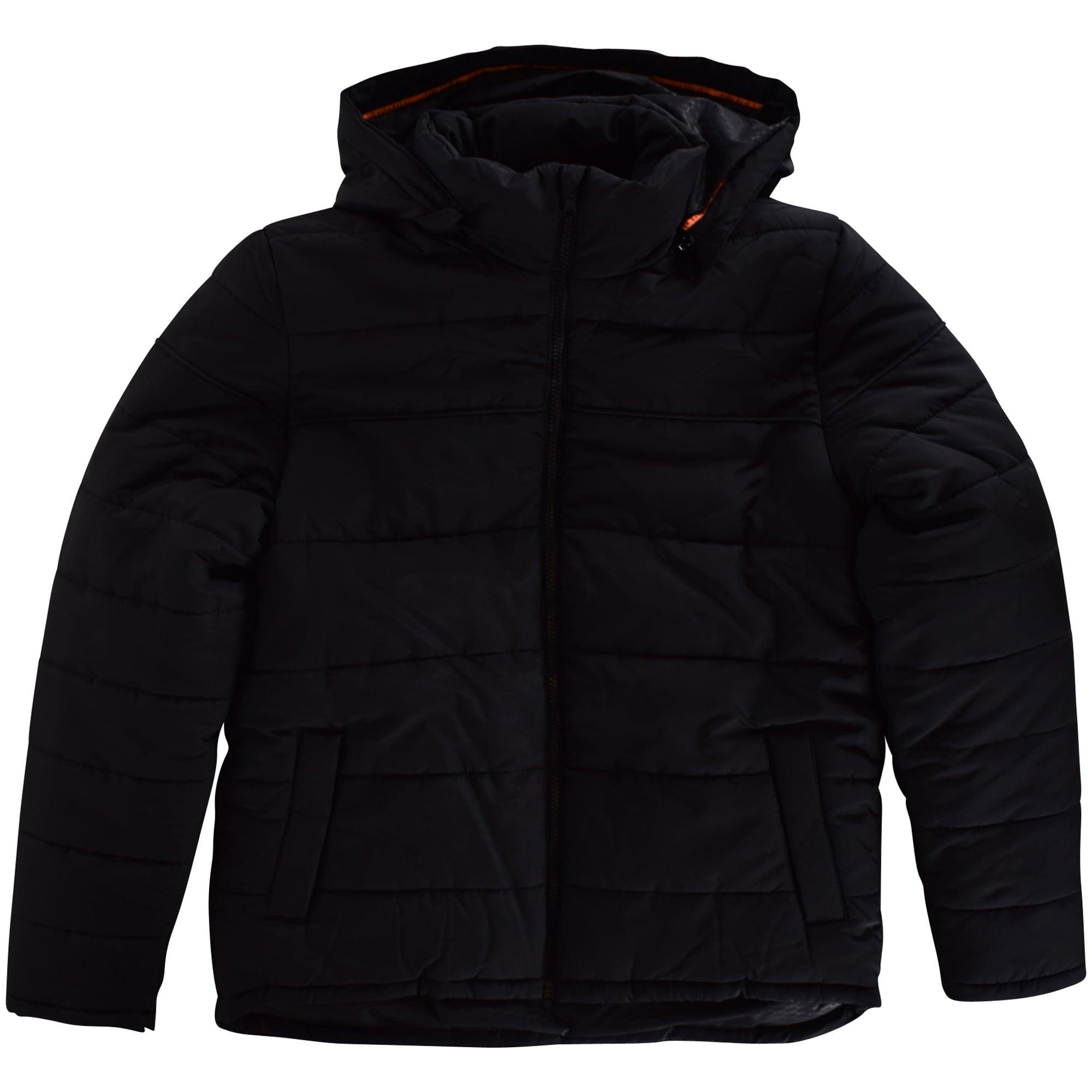 hugo boss hooded coat