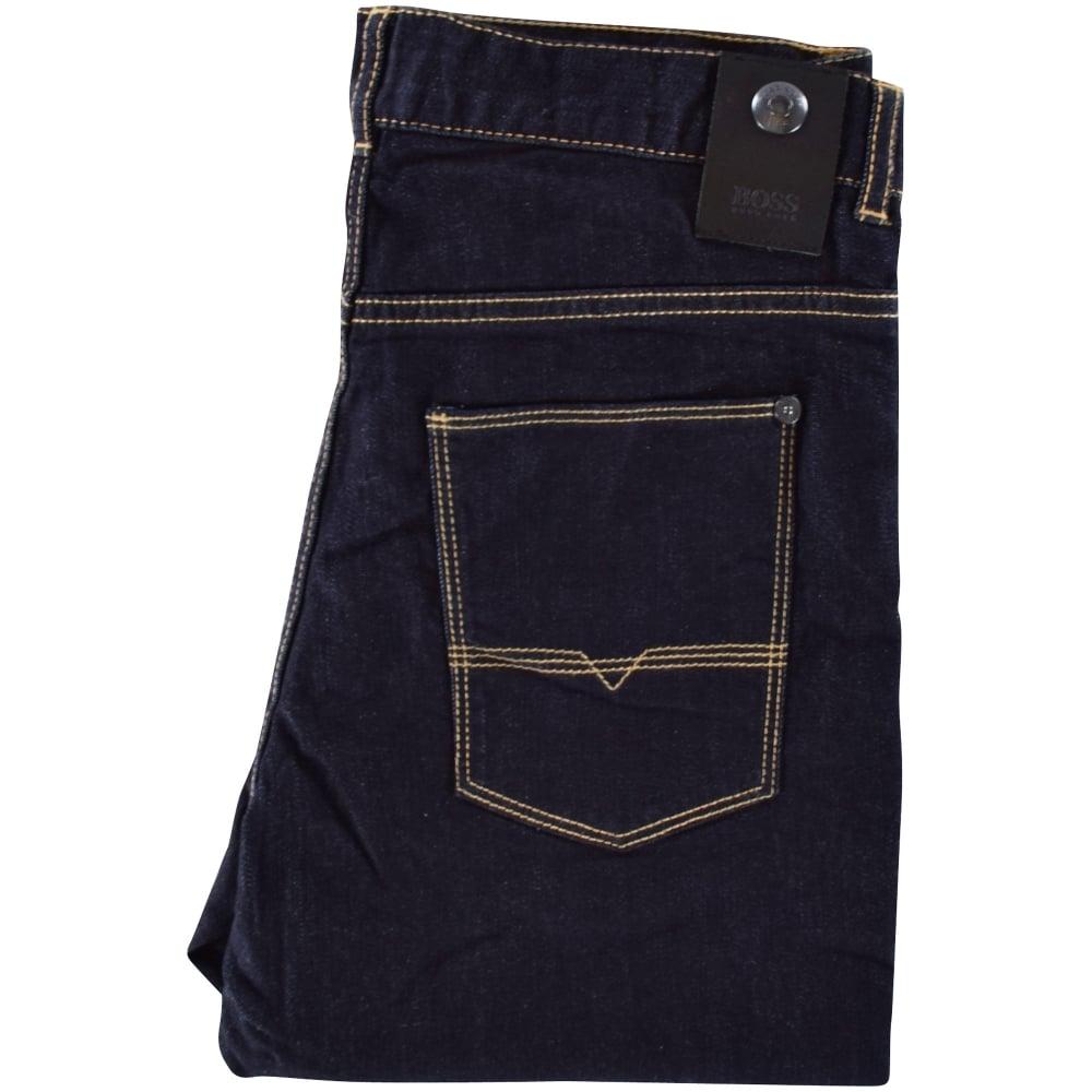 HUGO BOSS JUNIOR Hugo Boss Boys Denim Slim Fit Jeans - Junior from ... c9a1e5e987b4