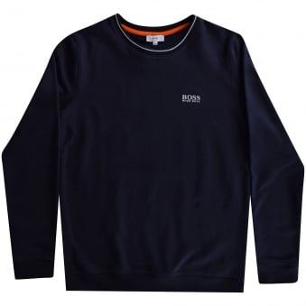 Hugo Boss Boys Navy Logo Sweatshirt