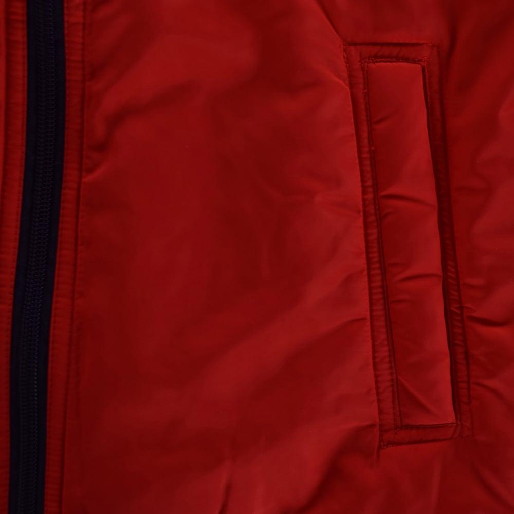 d5ee2f8cae2d HUGO BOSS JUNIOR Hugo Boss Boys Red Navy Zip Up Jacket - Junior from ...