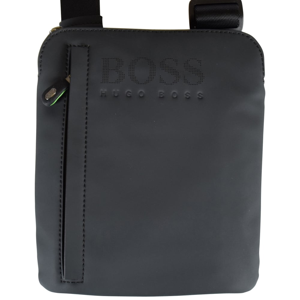 0db61caa7939 BOSS Hugo Boss Green Black Cross Body Bag