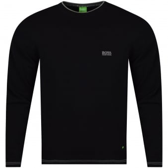 Hugo Boss Green Black Knitted Sweater