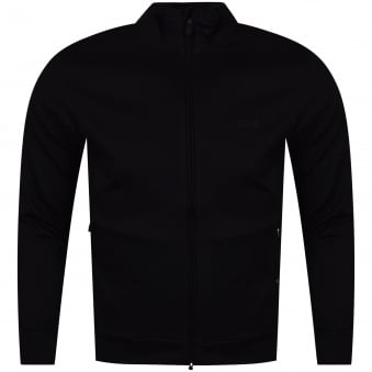 Hugo Boss Green Black/Reflective Back Logo Track Top