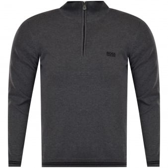 Grey Stretch Jumper