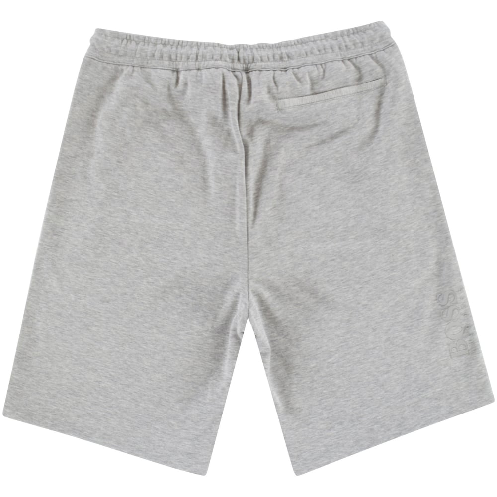 dc9eb1c9e6 BOSS Hugo Boss Green Light Grey Logo Jersey Shorts - Department from ...